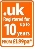 .uk secured for up to 10 years